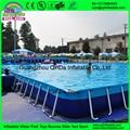Land Water Park Kids Amusement Hot Sale Swimming Pool, Steel Frame Pool, Intex Steel Frame Pool