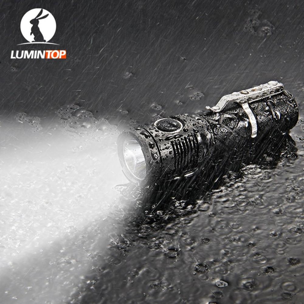 LUMINTOP SDMINI Max Output of 920 Lumens Micro-USB Interface Rechargeable Tactical Flashlight Cree XP-L HI LED yunhee lee kara angel diary volume 2