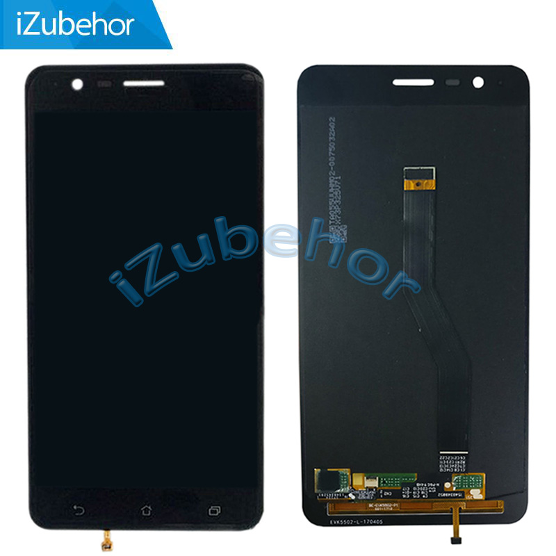 "5.5"" black/white For Asus Zenfone 3 Zoom ZE553KL LCD screen Digitizer Assembly For Zenfone Zoom S by free shipping"