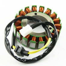 Motorcycle Ignition Magneto Stator Coil for Kawasaki VN1500 VN1500 Classic Magneto Edition Engine Stator Generator Coil цена в Москве и Питере
