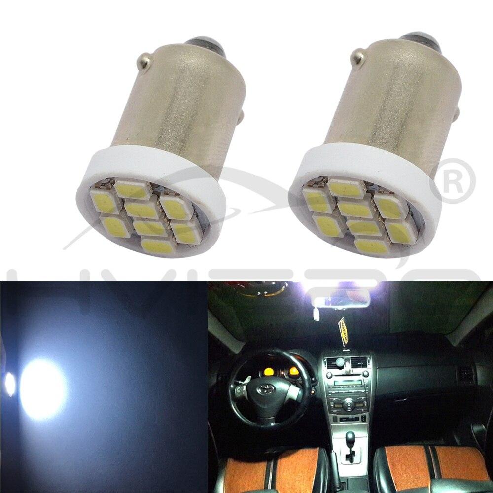 Hviero White T11 Ba9s Car Led 1206 8smd Reading Bulbs T4w Festoon Dome Door Light Signal Lamps Plate Led DC 12V Turn Light Tail Lamp