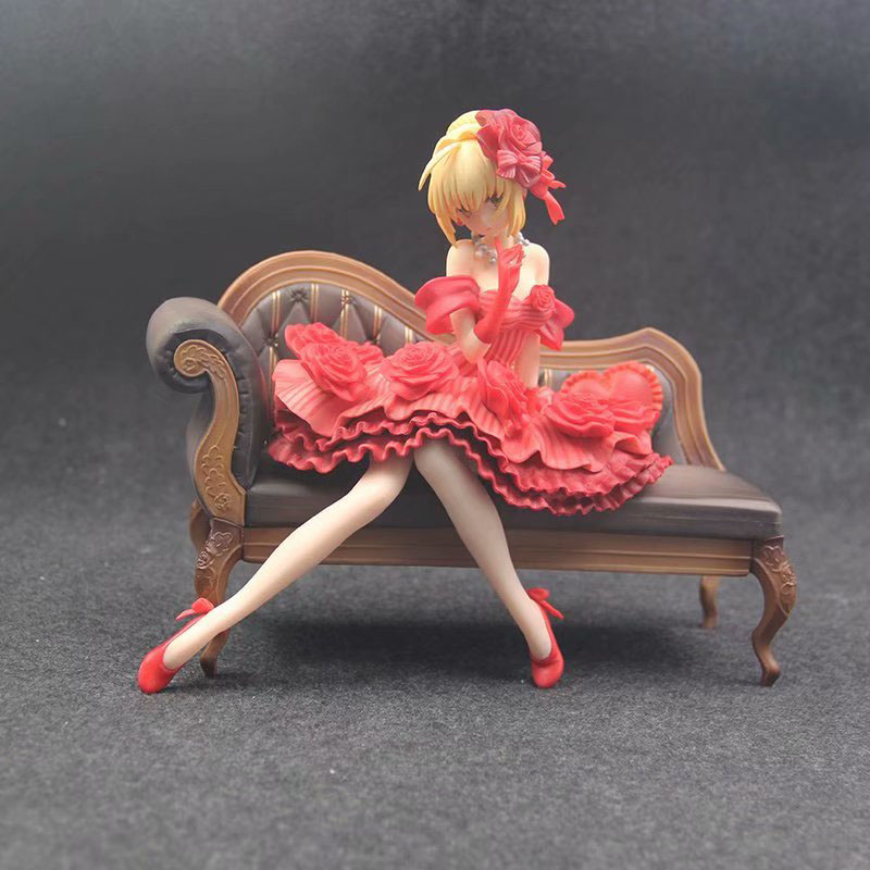 Fate EXTRA Idol Emperor Ver Nero Action Figure 1 7 scale painted figure Sitting Sofa Ver