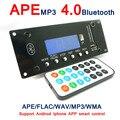 4.0 Bluetooth MP3 Декодирования Совета Модуль ж/Слот Для Карты SD/USB/FM/Будильник APE FLAC WAV WMA Декодер Доска КОМПЛЕКТ Цифровой СВЕТОДИОДНЫЙ SD/MMC