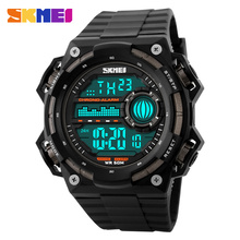 New Skmei Brand Men Sports Watches LED 50M Dive Swim Dress Fashion Digital Milit