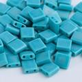 Taidian белые стеклянные бусины Miyuki Tila для самостоятельного изготовления ювелирных изделий 5,0x5,0x1,9 мм 3 г/лот, около 36 штук