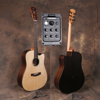 Professional Cutaway 41 Acoustic Guitars With 20mm cotton bag,Solid Spruce Top/Rosewood Body guitarra eletrica With Pickup