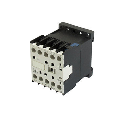 CJX2-K0901 220 Volts Coil 35mm DIN Rail 9A Three Pole 3P 1NC AC ContactorCJX2-K0901 220 Volts Coil 35mm DIN Rail 9A Three Pole 3P 1NC AC Contactor