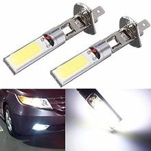 Высокое качество 2x H1 12 в 10 Вт H1 COB светодиодный автомобильный противотуманный светильник 6000K светодиодный автомобильный дальнего света H1 ходовой светильник s для авто