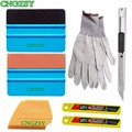Vinyl Wrap Window Tint Tools Set suede Felt Squeegee Stickers Vinyl Art Knife Blades Gloves Multi Decal Styling Hand Tools K33