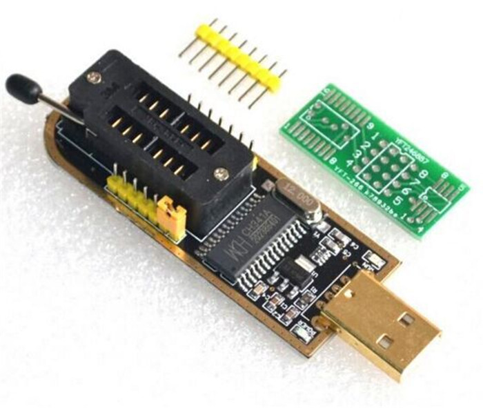 5PCSCH340 CH340G CH341 CH341A 24 25 Series EEPROM Flash BIOS USB Programmer with Software Driver