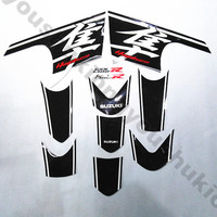newMotorcycle Case Tank Protector Decal Sticker for suzuki hayabusa gsxr1300 2008 2009 2010 2011 2012 2013 20 year full sticke