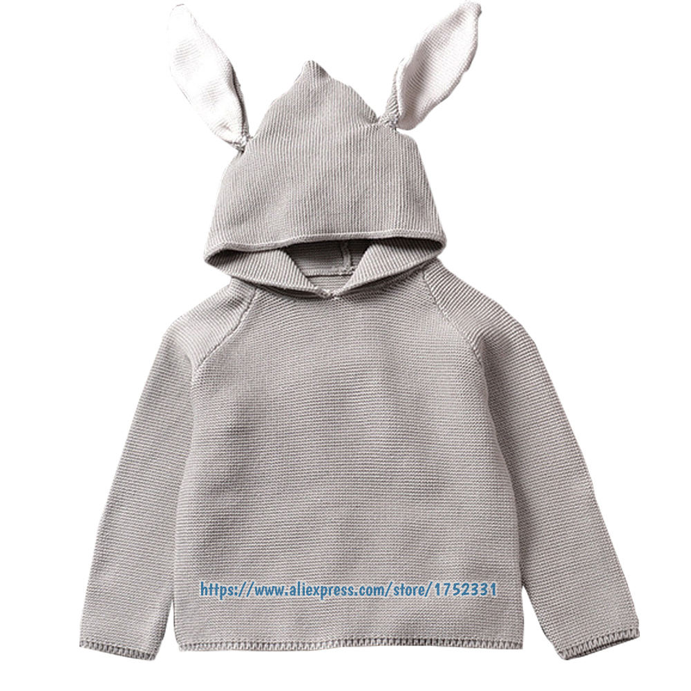 QUIKGROW-Quality-Textured-Cotton-Warm-Knitwear-Baby-Boy-Girl-Long-Sleeve-Sweater-Cute-Bunny-Rabbit-Hooded-Outwear-Tops-YM26MY-1