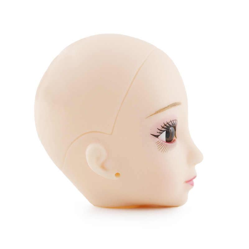 1/6 30 CENTÍMETROS DIY Maquiagem 20 Móvel Articulado Boneca Careca Nu Corpo 3D Olhos Toy Presentes