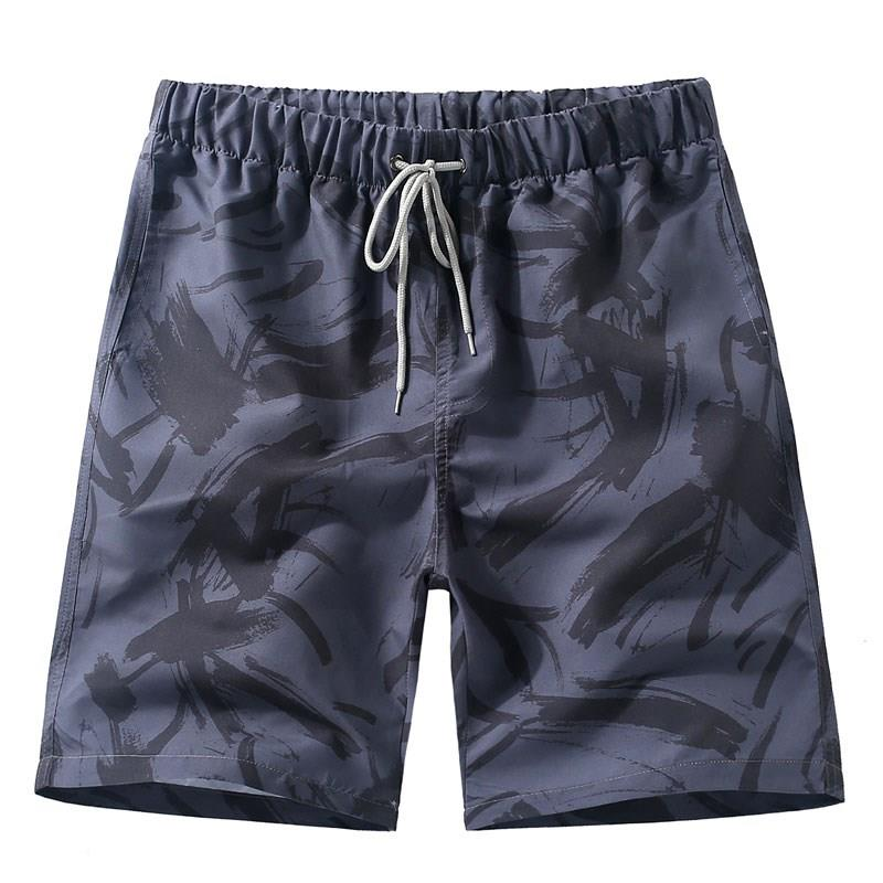 Summer Men's Trunk Swimsuit Beach Shorts Men 2019 Beach Surfing Shorts Men's Shorts Swim Trunks Running Quick Dry Printing