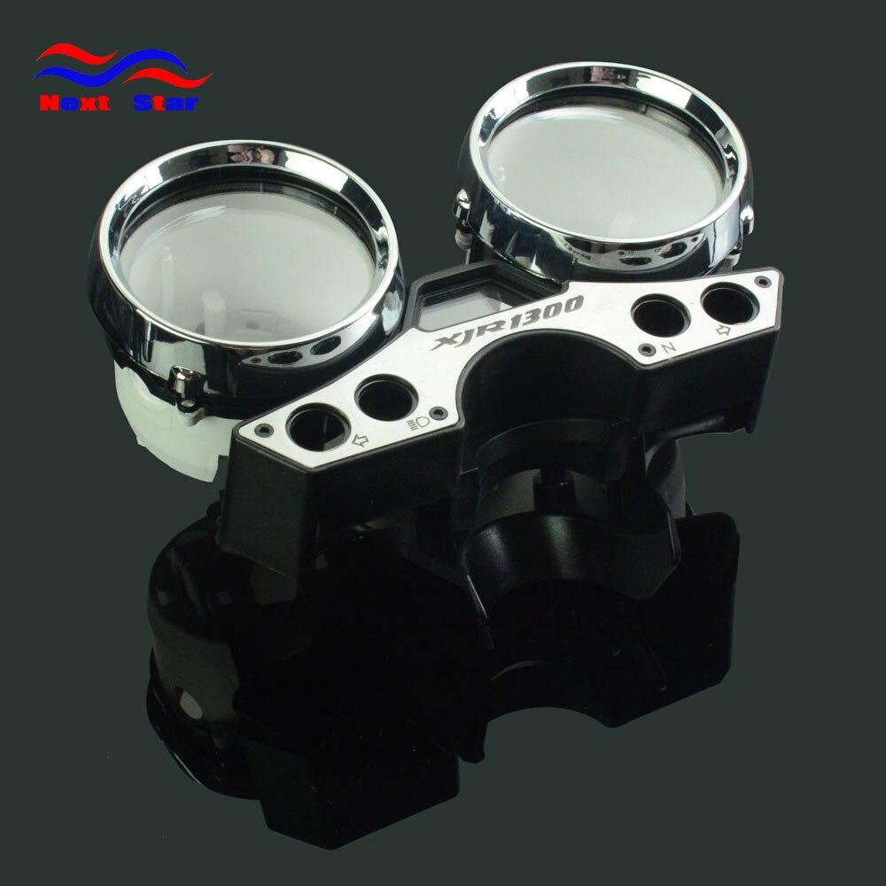 Compteur de vitesse odomètre tableau de vitesse Instrument coquille boîtier de compteur jauge couverture pour YAMAHA XJR1300 XJR 1300 1989 1990-1997 moto