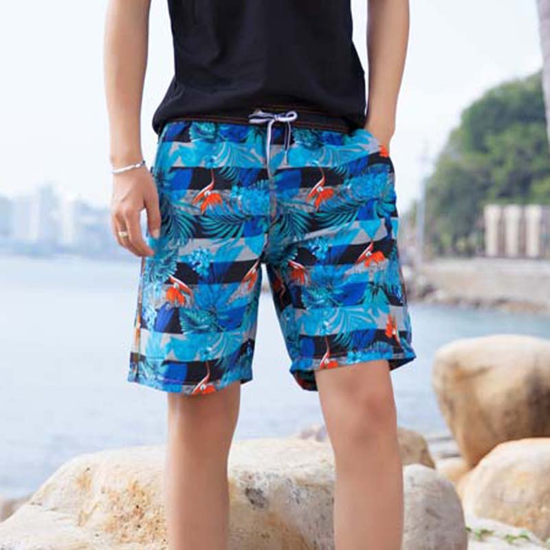 New 2019 Swimming Trunks Quick Drying Beach   Shorts   Men   Board     Shorts   Trunks Mesh Liner Surf   Shorts   Bermudas Playa Hombre