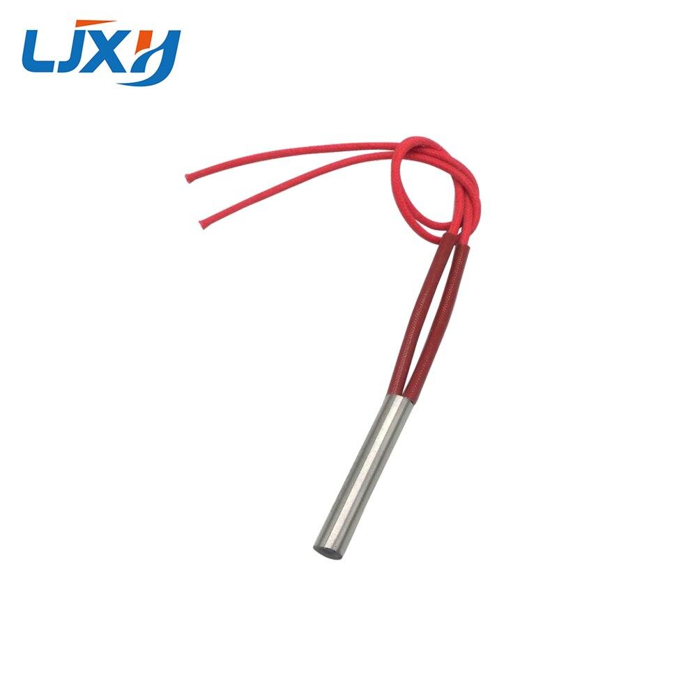 LJXH Cartridge Heater Element 220V/110V/380V Single Head Heating Pipe 80W/100W/130W 8x40mm/0.314x1.57