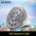 New Arrival E27 54W LED Coral Reef Grow Light High Power Fish Tank Aquarium Lamp LED Bulbs 12White:6Blue Lighting With CE ROHS