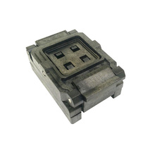 цена на BGA100 Clamshell burn in socket pitch 0.8mm IC size 9*9mm BGA100(9*9)-0.8-CP01NT BGA100 VFBGA100 burn in programmer socket
