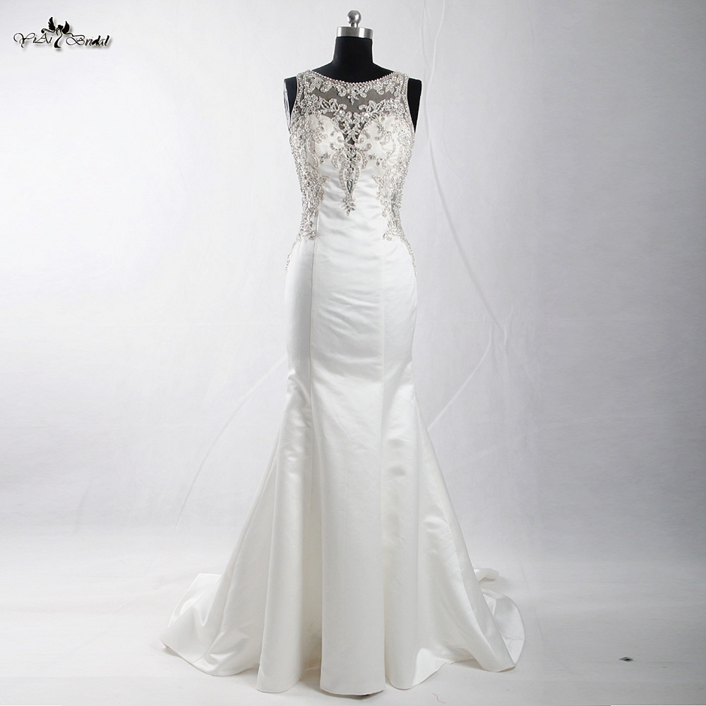Rsw906 bling bling luxury sexy backless wedding dresses for Big bling wedding dresses