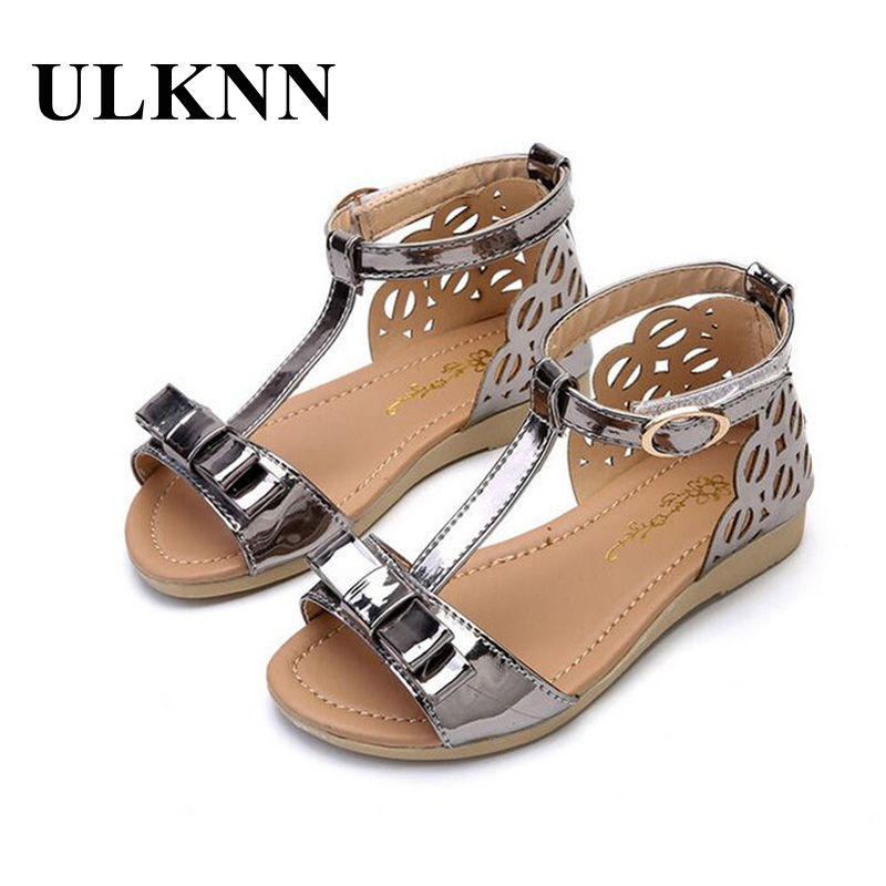 ULKNN Kids Sandals Girls Summer 2018 New Hot Sale Girl ...