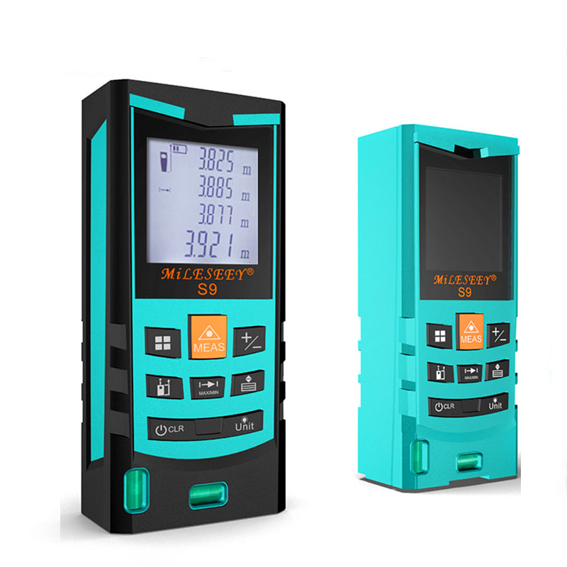 Mileseey Waterproof S9 60M Technology Laser Range finder Diastimeter Measure Distance Screen Rangefinder