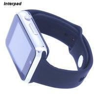 Bluetooth Smart Uhr Android Mit Schützen Glas Film Passometer Kamera SIM TF Karte Armbanduhr Smartwatch GT08 GT 08 DZ09 A1