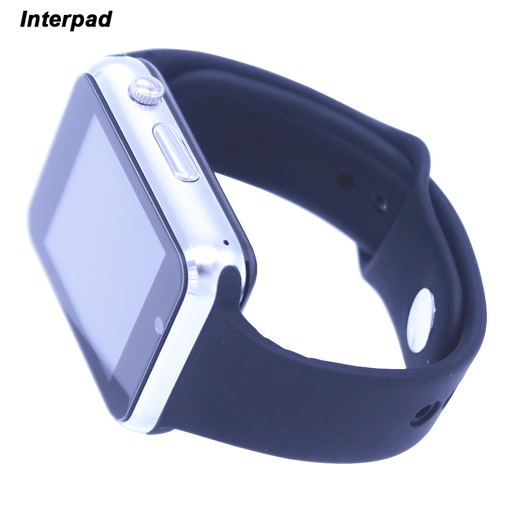 Bluetooth Smart Watch Android With Protect Glass Film Passometer Camera SIM TF Card Wrist Watch Smartwatch GT08 GT 08 DZ09 A1