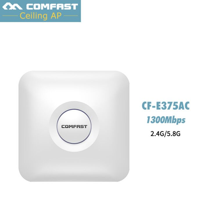 COMFAST wireless Ap 1300Mbps Ceiling AP 802.11AC Dual Band 2.4G+5G wifi router Indoor AP for big area wifi coverage Access Point comfast ceiling ap router 1200mbps wireless access point dual band 2 4g