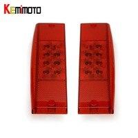 KEMiMOTO 1 Pair Tail Light Left And Right Side TailLight For Polaris Ranger 500 Ranger 400