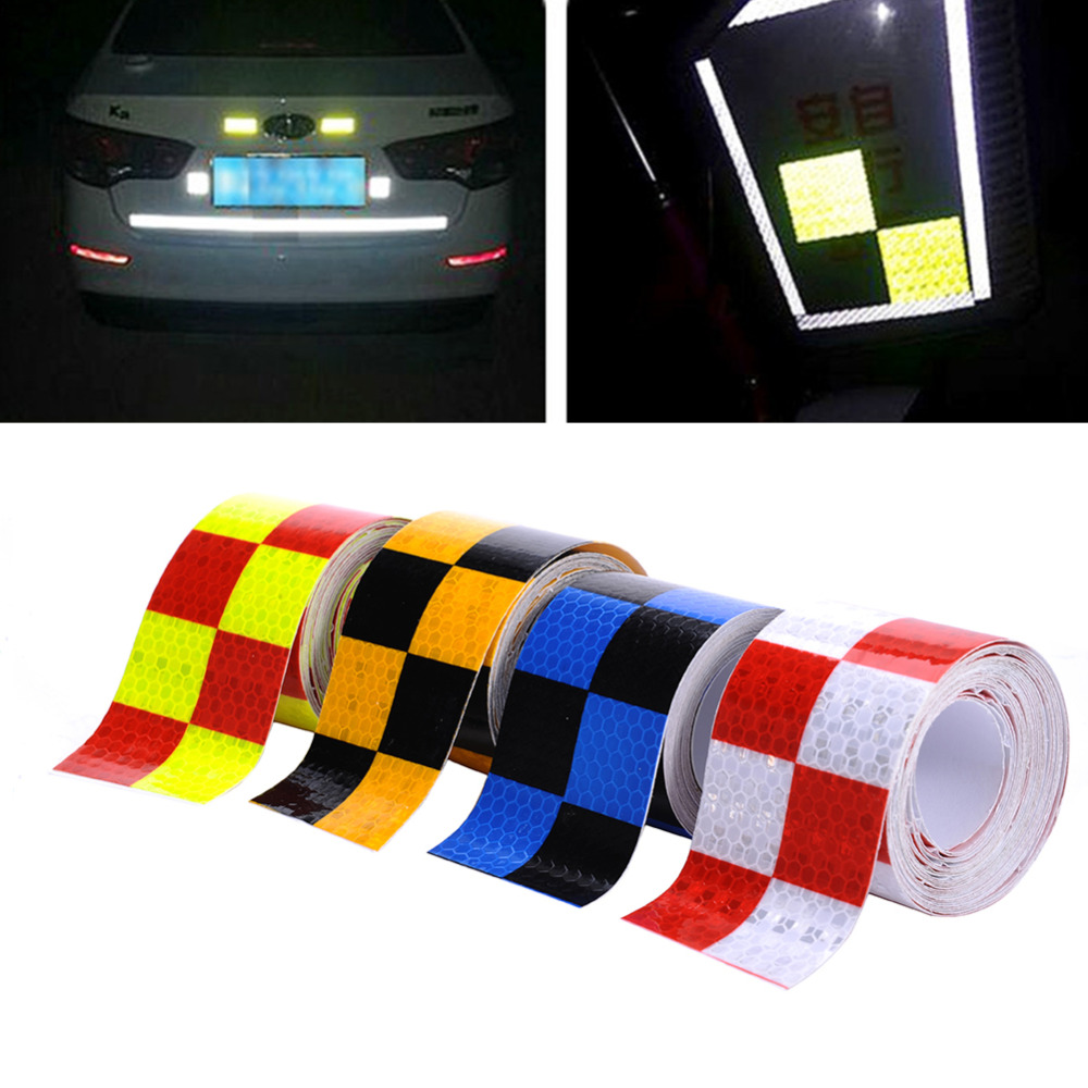 5cmx400cm reflective adhesive tape reflective tape sticker for truck car motorcycle bike safety use free shipping