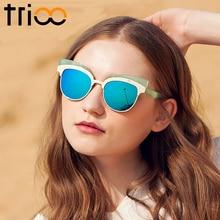 Gold Cat  Eye / High Fashion Designer Female Sun Glasses