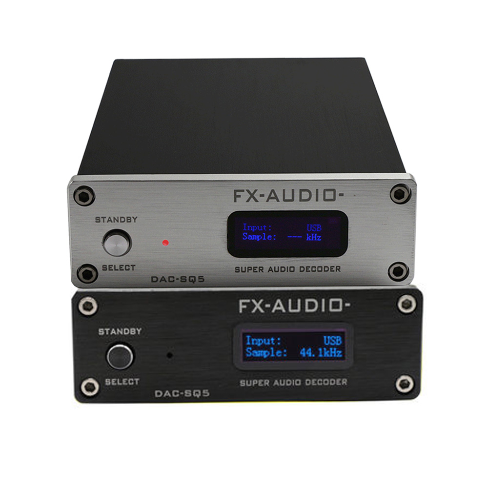 FX-Audio DAC-SQ5 Mini Hifi USB DAC Audio Decoding Headphone Amplifiers Amplificador Decoder PCM1794 AK4113 SA9027 24BIT 192KHz feixiang fx audio mini dac x3 fiber coaxial usb decoder 24bit 192khz usb dac headphone decoder audio amplifiers