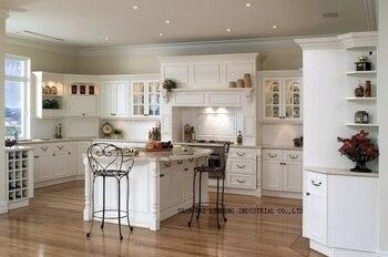 Кухонный шкаф из цельного дерева в стиле кантри (в стиле «LH-SW011»)