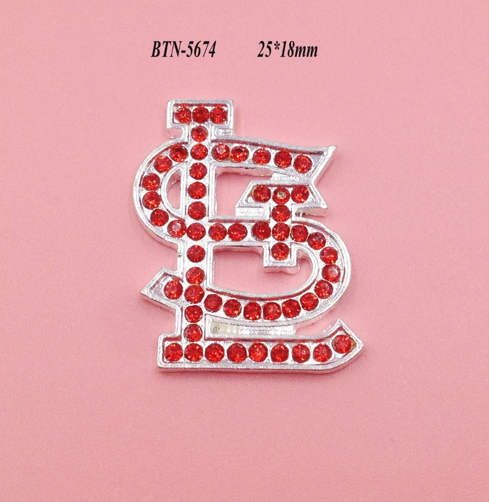 Free shipping 25*18mm rhinestone button 10PCS/lot for hair accessary (BTN-5674)
