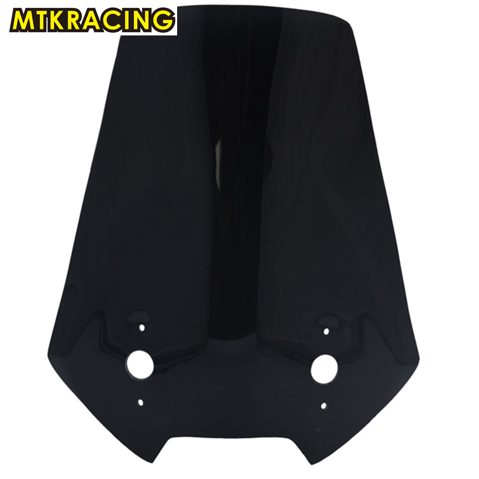MTKRACING ABS Motorcycle Windshield/Windscreen High quality For Kawasaki versys 650 VERSYS 650 high quality logo versys cnc brake clutch levers for kawasaki versys 650 2015 2016 2017 motorcycle brakes