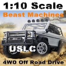 Big font b rc b font truck 402 49cm 1 10 AMG 4WD Bigwheel Climbing High