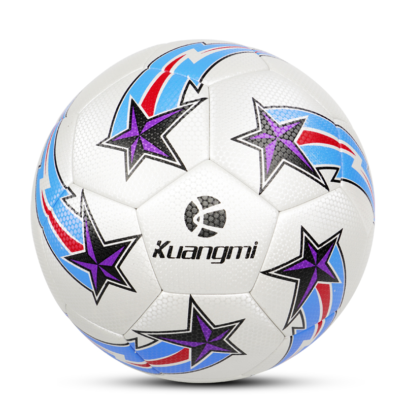 Kuangmi Official Size 5 Soccer Ball Team Match Training PU Football League futbol voetbal bola for Adult Men Youth Kids Game