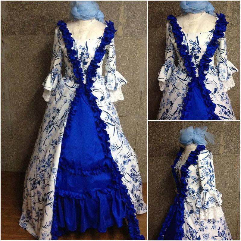 Robes Vintage 6 Sirène Southern Gothique 6xl guerre Halloween Belle Xs Imprimer Sz Robe Civile D Victorienne 26 Us 014 Trompette pqvOB