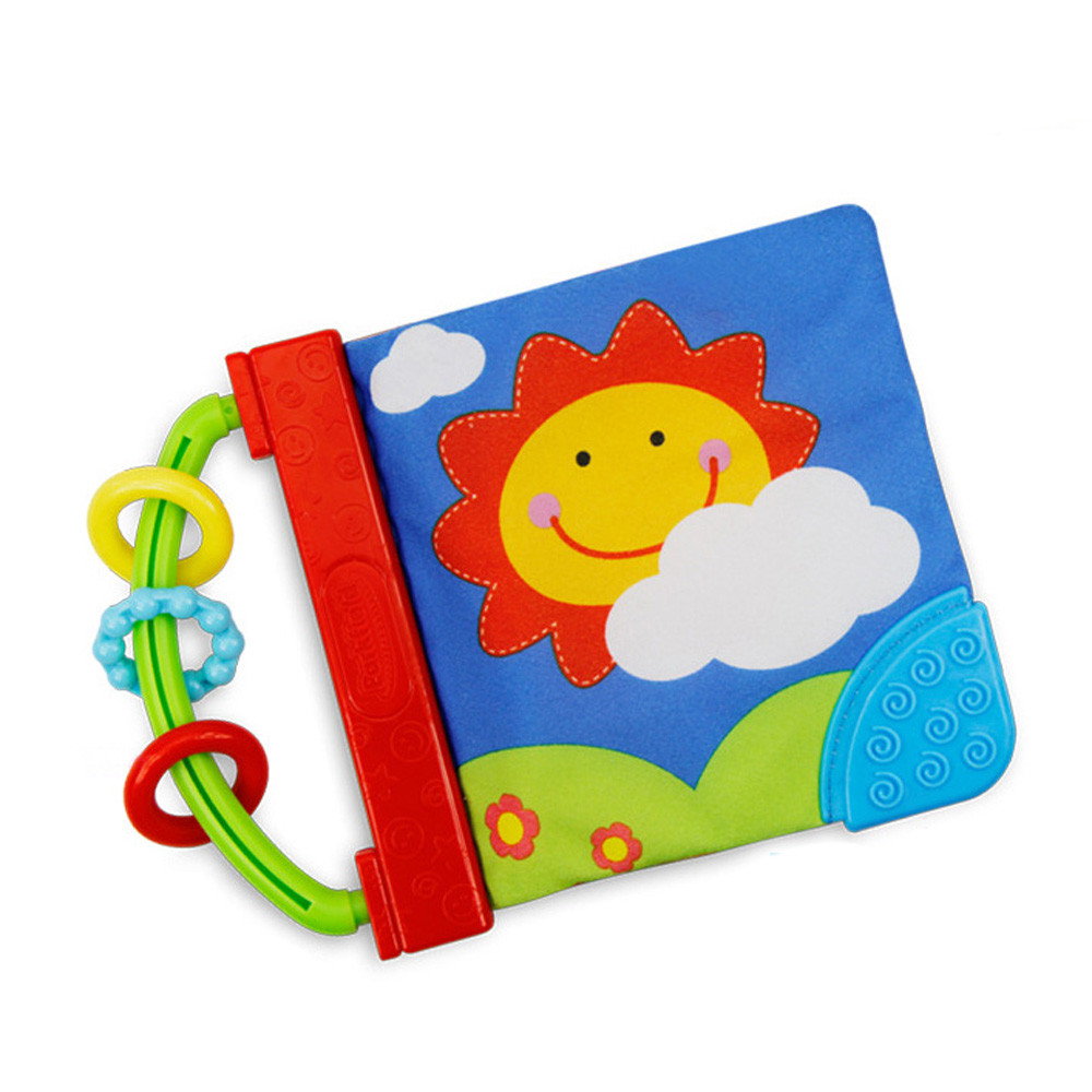 HIINST development and activity 2017 cute Kid Cloth Book Infant Baby Intelligence Development Toy Cognize Books*R Drop