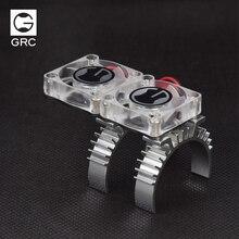 1/10 восхождение rc автомобиля обновление часть Traxxas Trx-4 TRX 4 TRX4 Двигатель Термальность индукции радиатора Вентилятор охлаждения