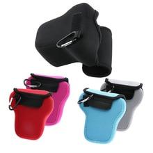 Неопрен Мягкие Треугольники Камера внутренняя сумка для Fujifilm XT20 X-T20 XT10 X-T10 XT1 X-T1 Камера чехол защитный чехол 5 цветов