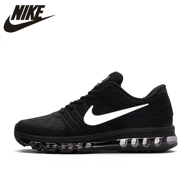 timeless design 1df1a 508b7 Aliexpress.com   Buy Hot Sale NIKE Air MAX 2017 Nike Running shoes full  palm nano Disu technology Sports Men shoes hot Sneakers 40 46 from Reliable  Running ...