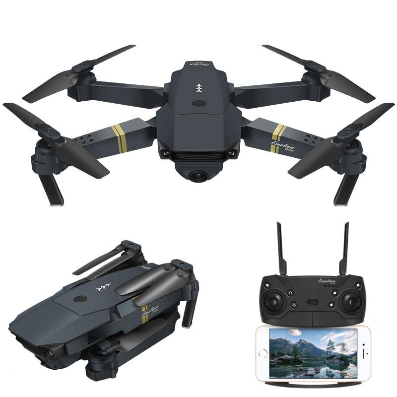 Eachine E58 WIFI FPV Avec Grand Angle HD Caméra Haute Tenue Mode Pliable Bras drone rc quadrirotor RTF - 3