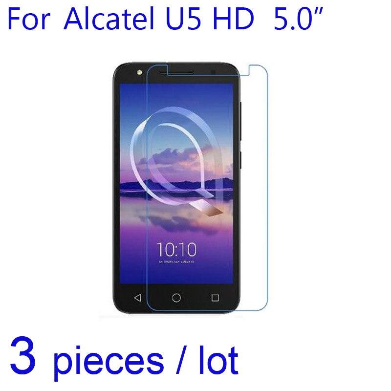 "3 шт./упак. Ultra Clear/матовый/Nano Anti-Explosion Экран протектор Защитная Плёнки для Alcatel U5 HD 5.0 ""смартфон ЖК-дисплей гвардии"