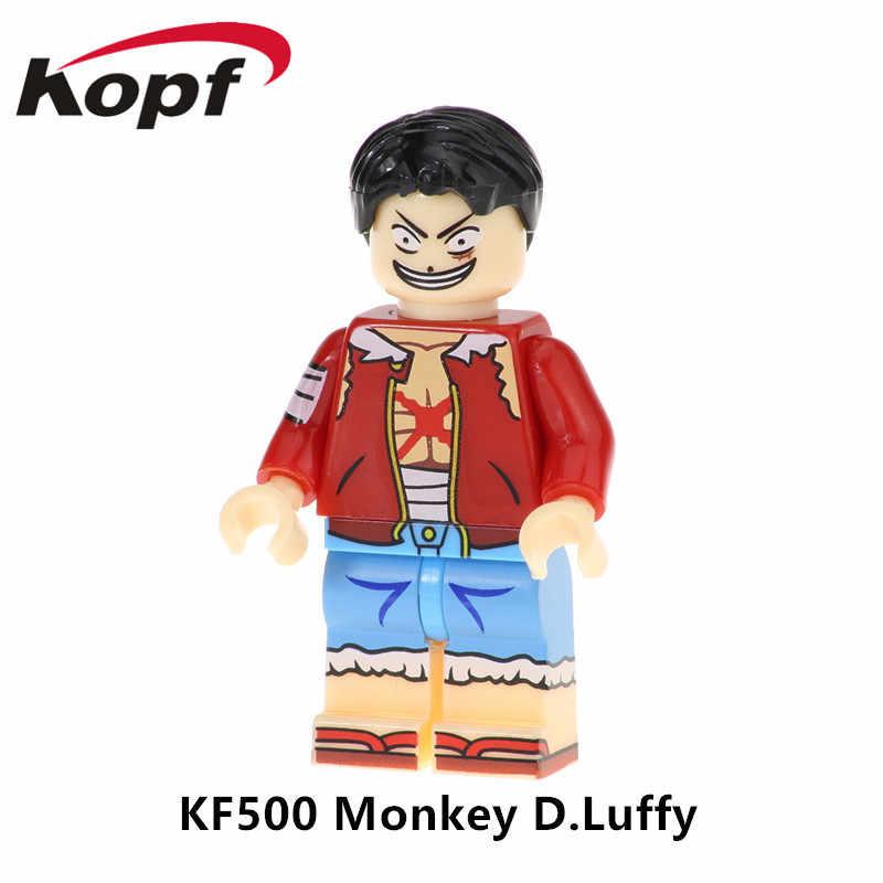 KF506 Супер Герои строительные блоки фигурки Usopp Сабо Tony Chopper экшн-Кирпичи Модель Коллекция для детей игрушки