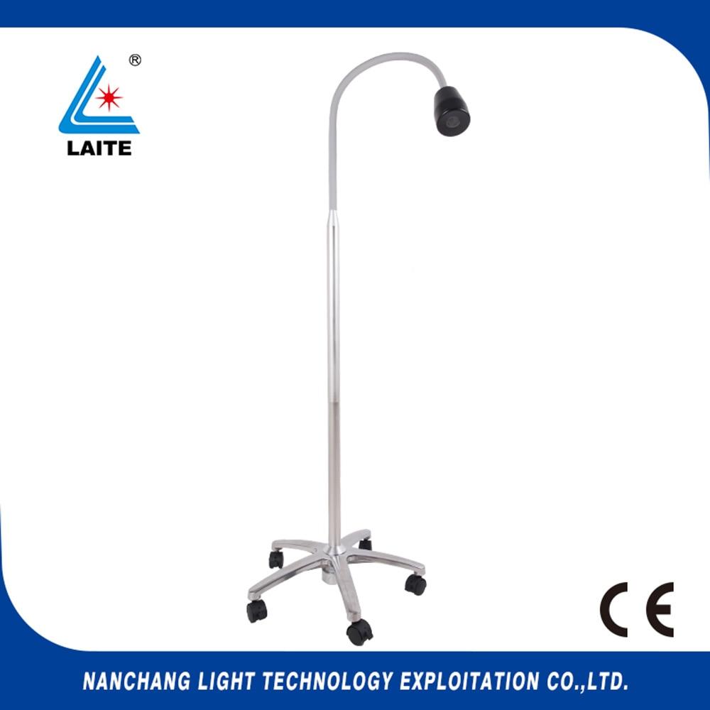 LED Mobile Surgical Medical Exam Light Floor Type Dental Examination Lamp free shipping-1set