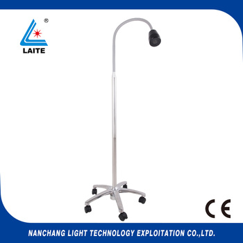 цена на LED Mobile Surgical Medical Exam Light Floor Type Dental LED Examination Lamp free shipping-1set