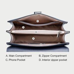 Image 5 - FOXER العلامة التجارية مصمم حقائب كتف المرأة حقيبة الوجه الإناث موضة جديدة حقيبة كروسبودي سلسلة حزام السيدات حقيبة ساع صغيرة