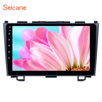 Seicane 2 Din 9 Android 9.1 Car Radio Multimedia Player WIFI For Honda CRV GPS Stereo 2006 2007 2008 2009 2010 2011 Head Unit image